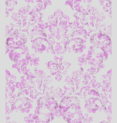 vintage baroque ornamented background vector image