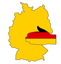 Welcome to Germany vector