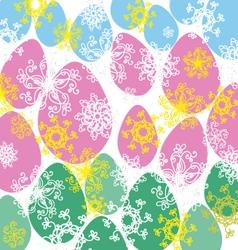 eggs V vector image vector image