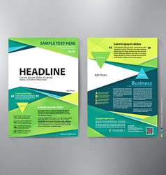 Brochure design a4 template vector