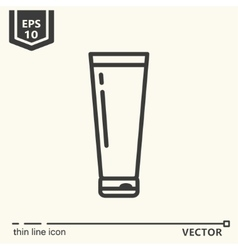 Hairdressing tools Icons series Container vector image vector image