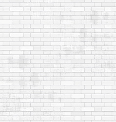 old white brick wall for your design seamless vector image