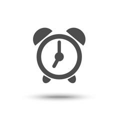Alarm clock iconl isolated vector