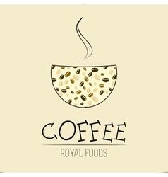 Coffee house coffee shop vector image