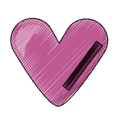 Heart love symbol vector