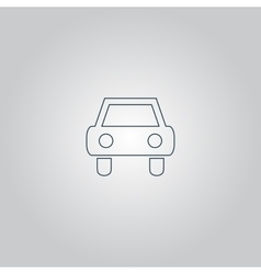 Old Car Icon vector image