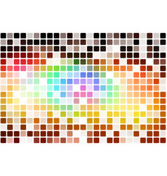 Red pink green blue brown occasional opacity vector
