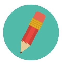Isolated pencil tool design vector