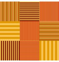 stripe set seamless vector image vector image