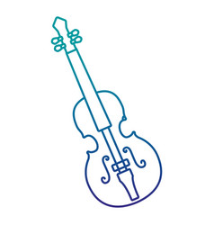 cello musical instrument isolated icon vector image