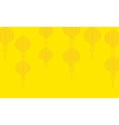 Background of lanterns art vector