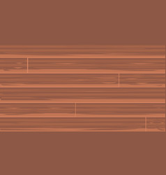 Brown wood boards vector
