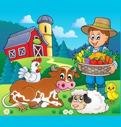 Farmer topic image 6 vector