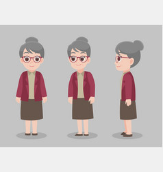 Grandmom01 vector