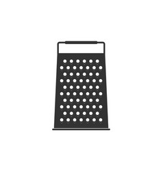 grater icon isolated kitchen symbol flat design vector image