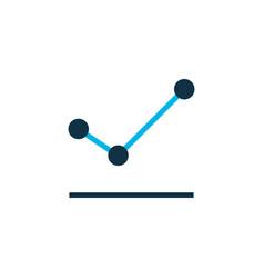 increase icon colored symbol premium quality vector image
