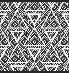 monochrome triangle texture vector image