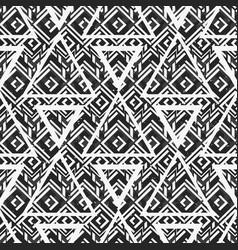 monochrome triangle texture vector image