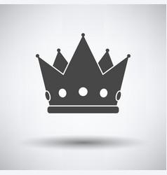 Party crown icon vector