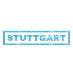 Stuttgart Rubber Stamp vector image