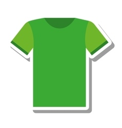 t-shirt uniform team icon vector image