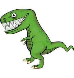 dinosaur cartoon vector image vector image