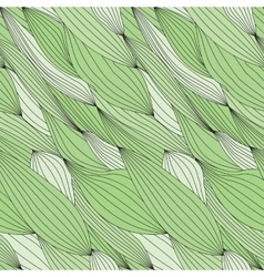 Seamless green texture for fabric vector image