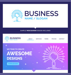 Beautiful business concept brand name data vector
