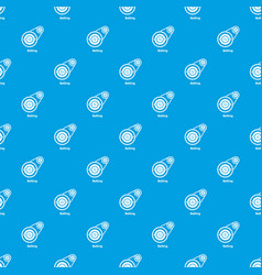 belting drive pattern seamless blue vector image
