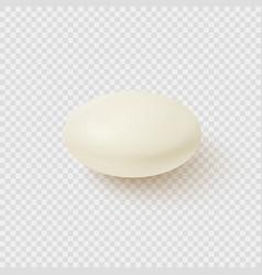 Realistic medical pill vector