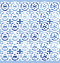 seamless pattern of tiles islam arabic indian vector image