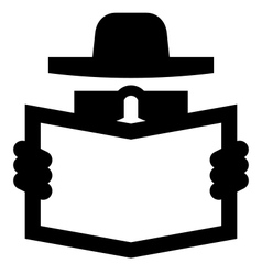 Spy icon vector image