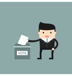 Voting concept picture vector
