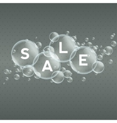 Price labels in bubbles Sale vector image vector image