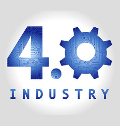 40 industry vector image