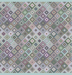 Abstract diagonal square mosaic pattern background vector