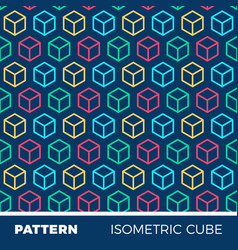 abstract geometric background pattern vector image