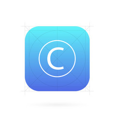 creative set of app icon vector image