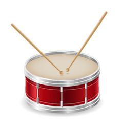 Drum musical instruments stock vector