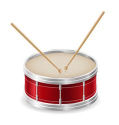 Drum musical instruments stock vector