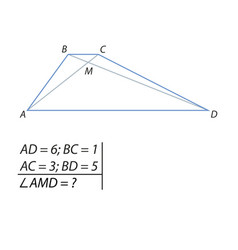 Finding angles intersection point of vector
