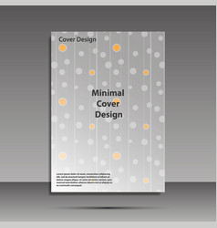 Minimal covers design geometric halftone vector