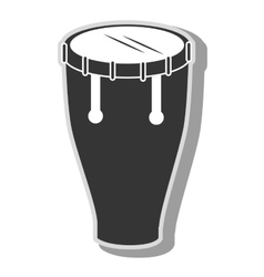 Music instrument icon vector