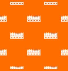Regal crown pattern seamless vector