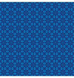 Retro navy blue seamless pattern eps10 vector