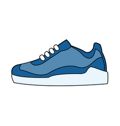 single sneaker icon image vector image vector image