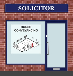 Solicitor House Conveyancing vector