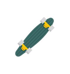 Under longboard icon flat style vector