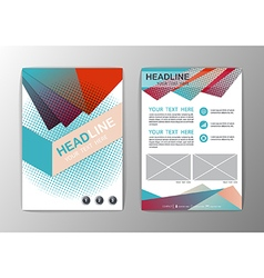 Abstract Background Triangle design Business vector image vector image