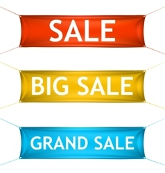 Big grand sale banners vector image vector image